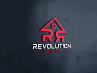 Revolution Roofing Logo - Entry #268