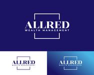 ALLRED WEALTH MANAGEMENT Logo - Entry #551