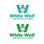 White Wolf Consulting (optional LLC) Logo - Entry #273