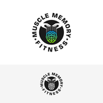 Muscle Memory fitness Logo - Entry #17