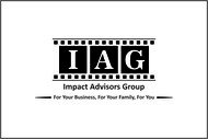 Impact Advisors Group Logo - Entry #242
