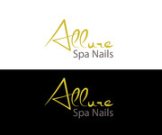 Allure Spa Nails Logo - Entry #166