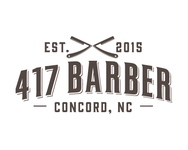 417 Barber Logo - Entry #21