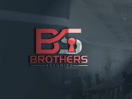 Brothers Security Logo - Entry #72