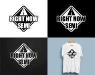 Right Now Semi Logo - Entry #209