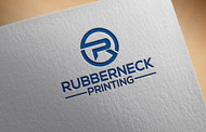 Rubberneck Printing Logo - Entry #42