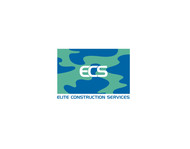 Elite Construction Services or ECS Logo - Entry #271