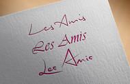 Les Amis Logo - Entry #22