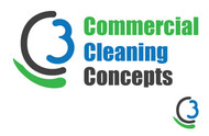 Commercial Cleaning Concepts Logo - Entry #74