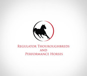 Regulator Thouroughbreds and Performance Horses  Logo - Entry #1