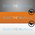 search the town .com     or     djsheil.com Logo - Entry #6