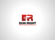 Dun Right Spray Foam and Coating LLC Logo - Entry #67