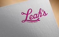 Leah's auto & nail lounge Logo - Entry #18