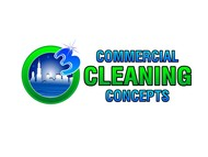 Commercial Cleaning Concepts Logo - Entry #105