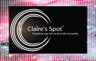 Claire's Spot Logo - Entry #28