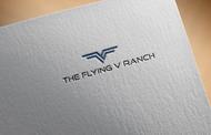 The Flying V Ranch Logo - Entry #80