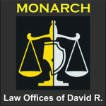 Law Offices of David R. Monarch Logo - Entry #247
