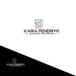 Kara Fendryk Makeup Artistry Logo - Entry #54