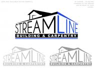 STREAMLINE building & carpentry Logo - Entry #106