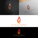 ellie's essence candle co. Logo - Entry #26