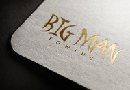 Big Man Towing Logo - Entry #117