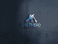 Shepherd Drywall Logo - Entry #191