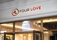 Four love Logo - Entry #169
