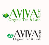 AVIVA Glow - Organic Spray Tan & Lash Logo - Entry #7