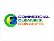 Commercial Cleaning Concepts Logo - Entry #51