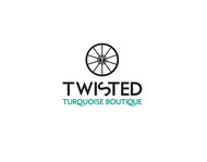 Twisted Turquoise Boutique Logo - Entry #138