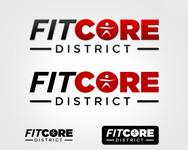 FitCore District Logo - Entry #33