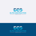 Elite Construction Services or ECS Logo - Entry #13