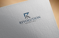 Revolution Roofing Logo - Entry #54