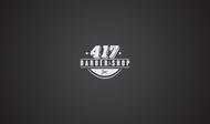 417 Barber Logo - Entry #63