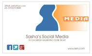 Sasha's Social Media Logo - Entry #86