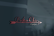 Drifter Chic Boutique Logo - Entry #153