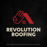 Revolution Roofing Logo - Entry #184