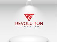 Revolution Fence Co. Logo - Entry #154