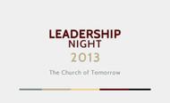 Leadership Night 2013 Logo - Entry #90