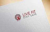 Live Fit Stay Safe Logo - Entry #188
