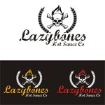 Lazybones Hot Sauce Co Logo - Entry #96