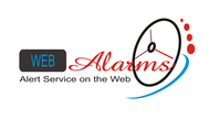 Logo for WebAlarms - Alert services on the web - Entry #39