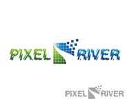 Pixel River Logo - Online Marketing Agency - Entry #248
