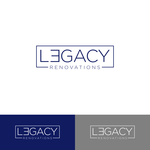 LEGACY RENOVATIONS Logo - Entry #214