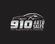 910 Auto Sales Logo - Entry #56