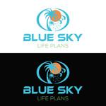 Blue Sky Life Plans Logo - Entry #371