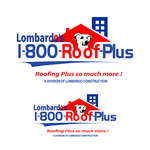 1-800-Roof-Plus Logo - Entry #84