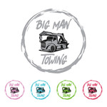 Big Man Towing Logo - Entry #18
