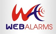 Logo for WebAlarms - Alert services on the web - Entry #157