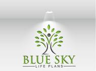 Blue Sky Life Plans Logo - Entry #272